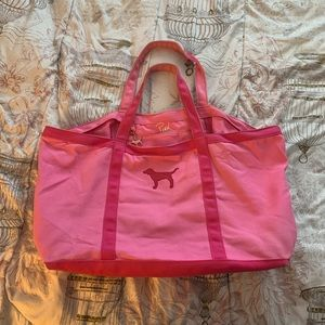 Victoria's Secret PINK Tote Bag with Charm